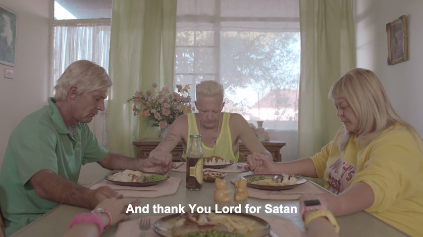 die antwoord baby's on fire and thank you lord for satan