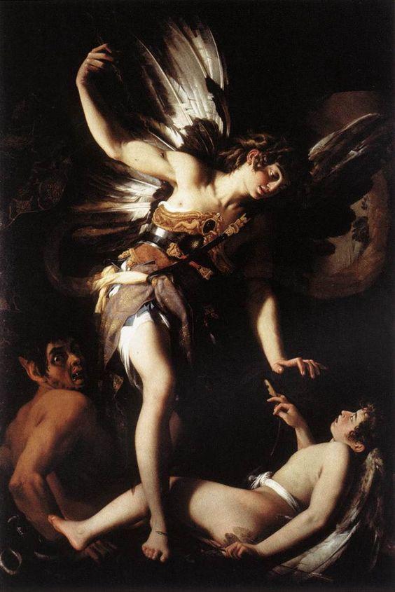 Giovanni Baglione, Amor Sacro e Amor Profano (Sacred and Profane Love), ca. 1602-1603