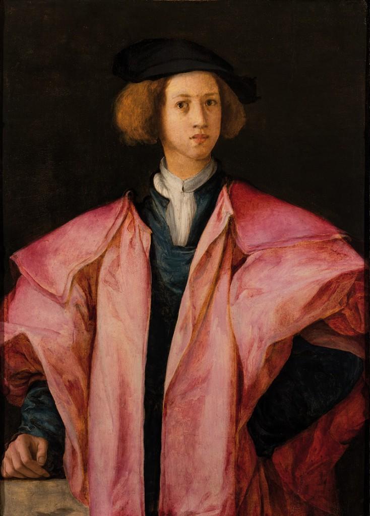 Pontormo-Ritratto-di-giovinetto-1525