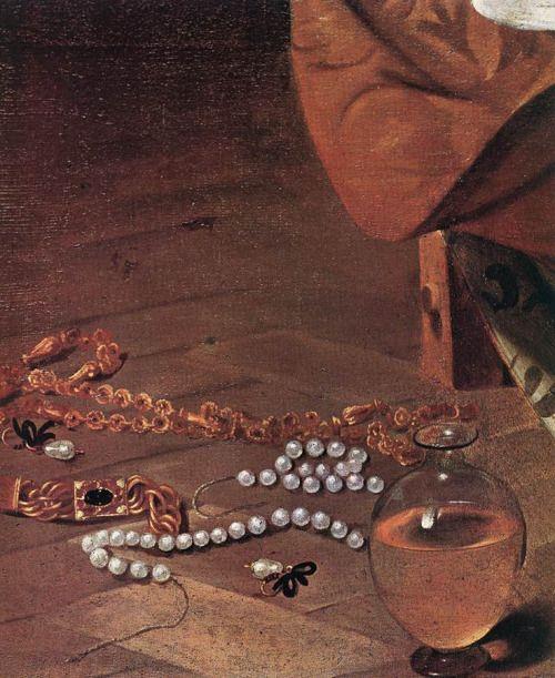 caravaggio maddalena penitente dett