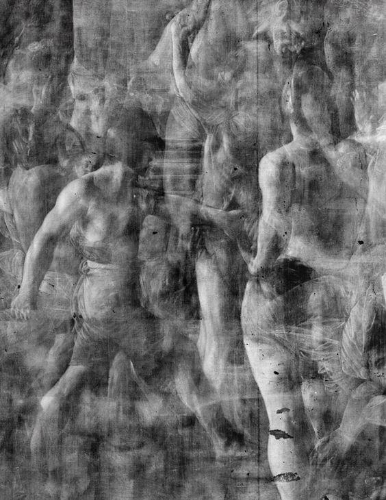 caravaggio martirio san matteo radiografia