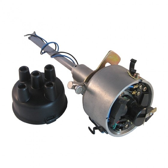 Complete Solid State Electronic Ignition Distributor 12 volt Fits 41-71