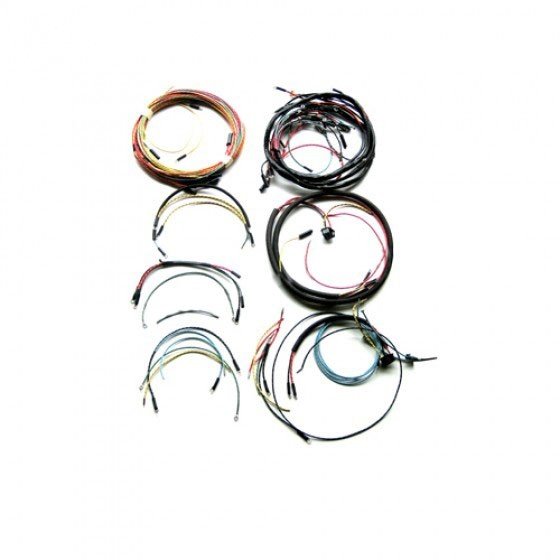 Complete Wiring Harness - Made in the USA Fits 46-53 CJ-2A, 3A