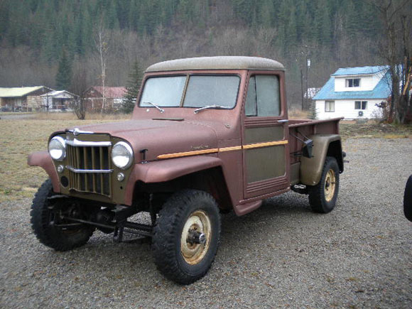 About Willys Jeep Pickup Truck - Jeep Specs and History