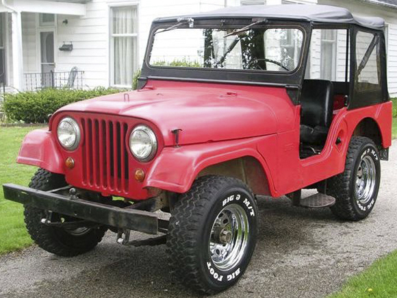 About Willys Vehicles - CJ-5, 6