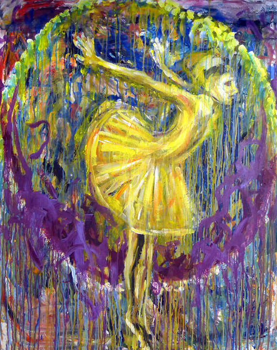 Yellow Dancer by Al Preciado