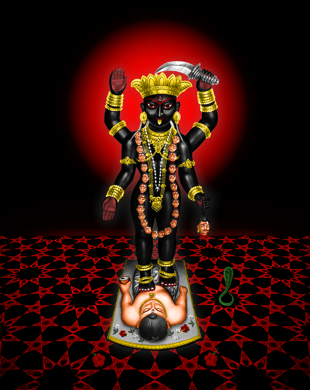 Maa Kali Hd Wallpaper 1080p Darshan A Gallery Of Kali Ma Images