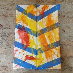 paint with tape