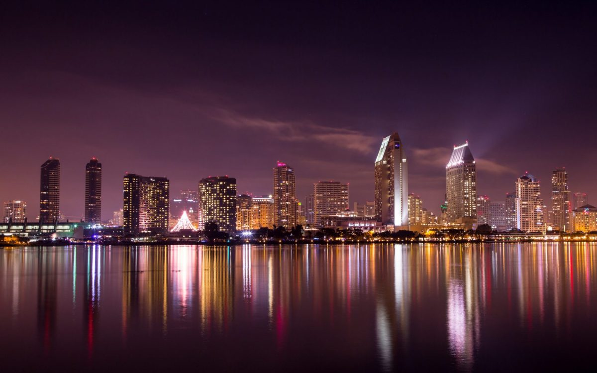 san-diego-skyline-night