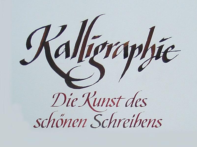 Kalligraphie P