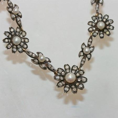 Diamond Antique Necklace