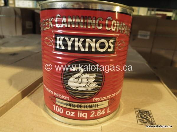 Kyknos brand tomato paste from Nafplio