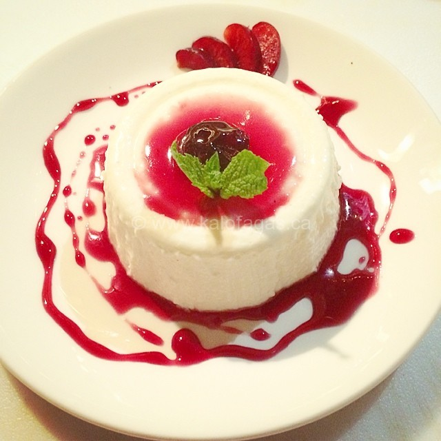 Panna Cotta With Greek Yogurt and Mastiha