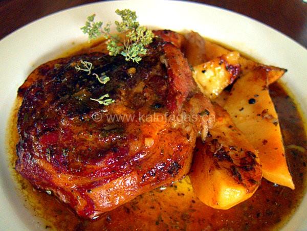 Roasted & Braised Lamb Neck Lemonato