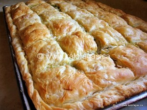 Homemade Phyllo Class in Montreal May 5th, 2016
