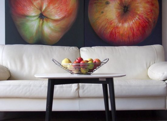 apple painting interior