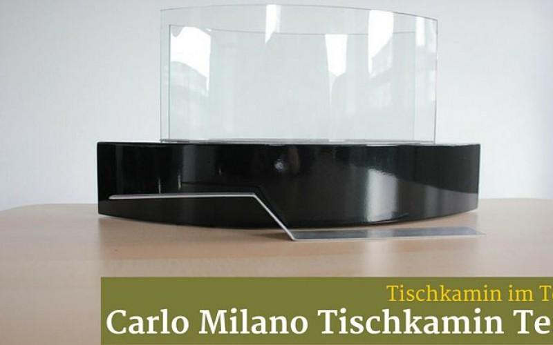 Carlo Milano Tischkamin Test Kamin Und Ofeninfo