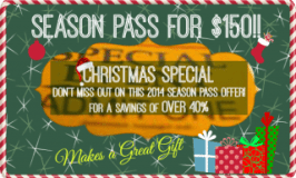 Christmas Special! Spectator 2014 Season Pass SALE for KAM Kartway