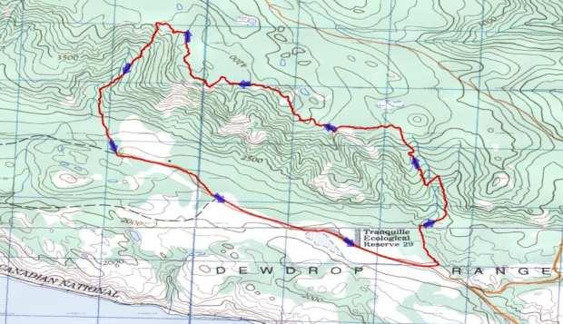 Dewdrop Red Plateau Loop