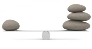Managing the balance...
