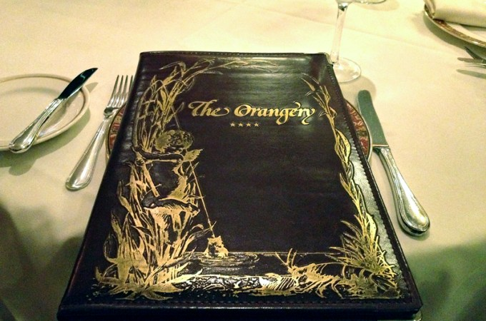 Knoxville Eats: the Orangery