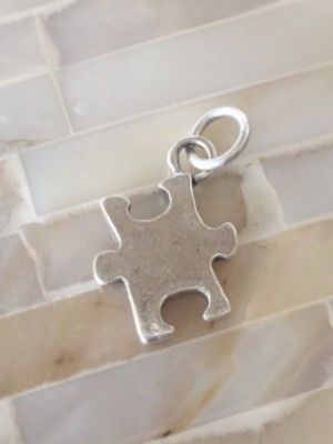 Puzzle Piece Autism Necklace Be You Kandsimpressions
