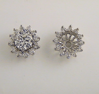 Earring Jackets For Diamond Studs Photo Album - Best ...