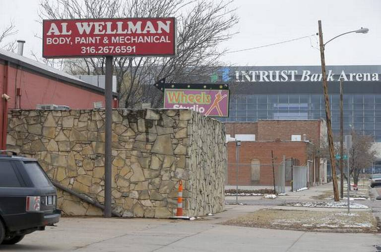 5 years after Intrust Bank Arena opens, little surrounding