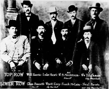 Lawmen Of Dodge City Kansas Ks Cowboy Capital Wyatt
