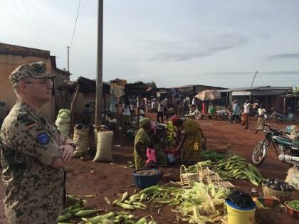 Markt nähe Koulikoro