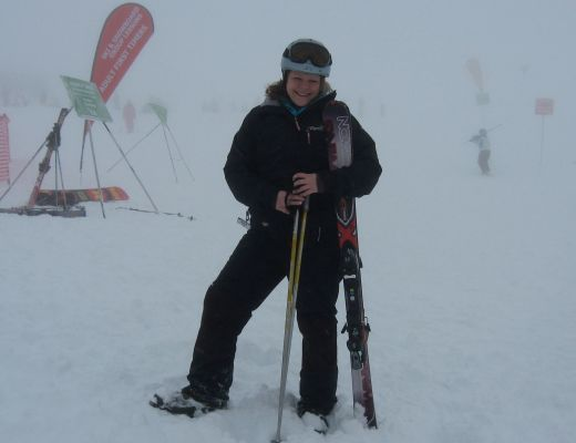 All kitted out on the slopes of Cardrona Ski Field