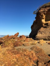 Rock formations on Anglesea Beach, Great Ocean Road