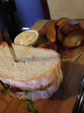 Steak sandwich, The Agrestic Grocer, Orange Wine Tours