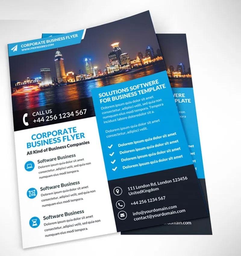 The Top Free Flyer Design Templates Kapokcom Tech - promotional flyer designs