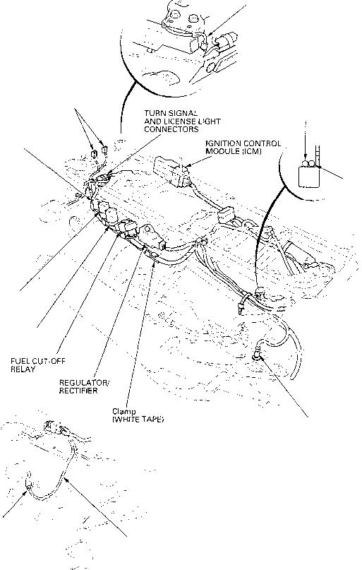 turn signal relay honda cbr 600 1997 2000
