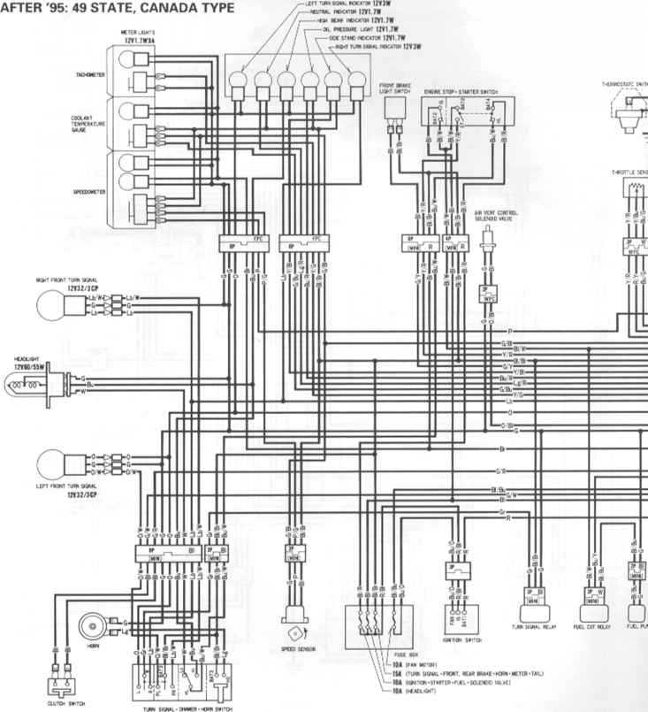 1995 cbr 600 f3 wiring diagram