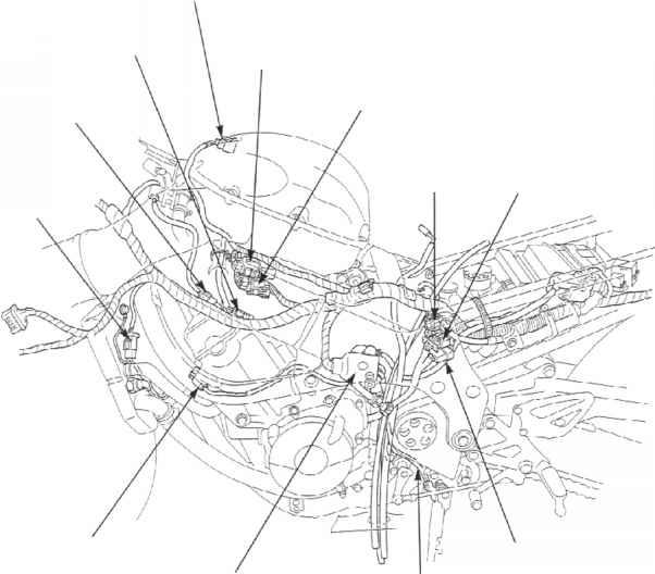 cbr 600 engine diagram