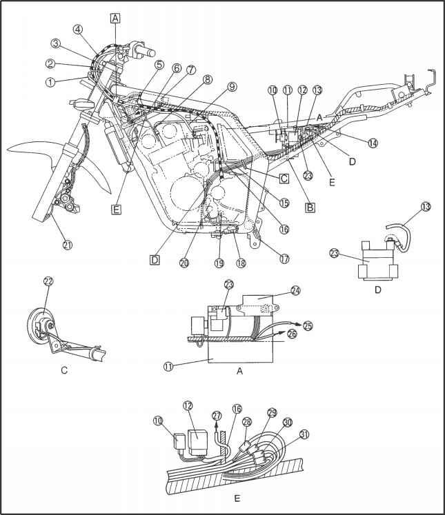 yamaha fzs 600 wiring diagram