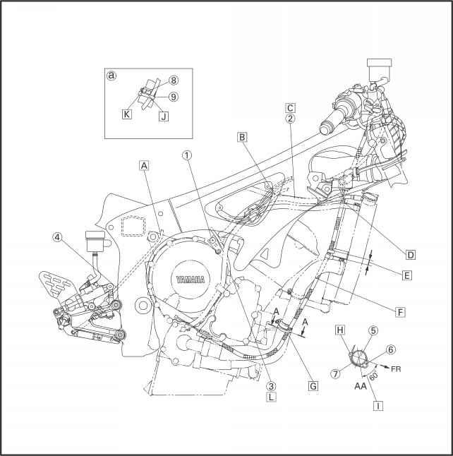 2000 yamaha r1 wiring harness diagram