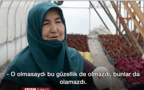 Bursalı köylülerin 'çiçek açtıran' su mücadelesi