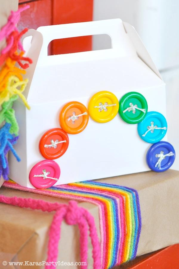 Kara\u0027s Party Ideas Rainbow Themed Birthday Party Kara\u0027s Party