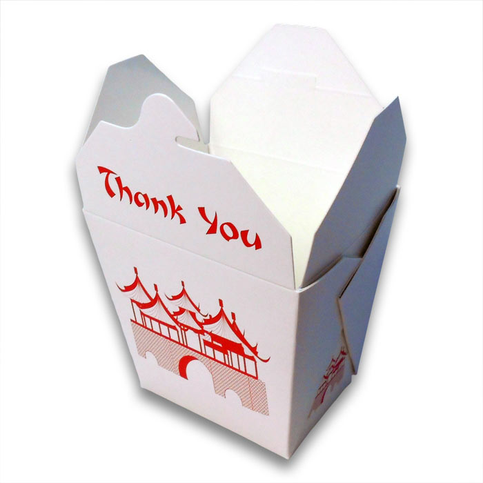 Chinese Party Gift Boxes Oriental Takeout Container