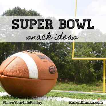 Ready for some great snacks to go along with the big game? Visit KarenEhman.com for easy recipes for game day!