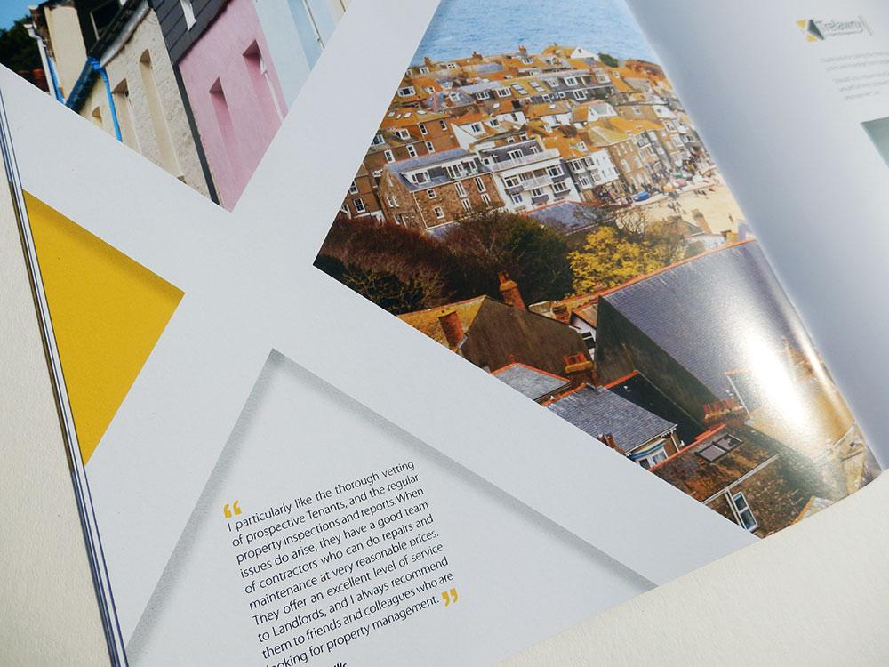 Brochure design - Trelawny property - Karen Jackson Design