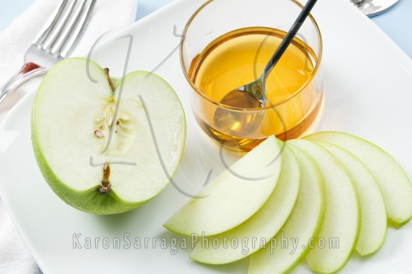 Royalty Free Content: Apples And Honey For Rosh Hashanah