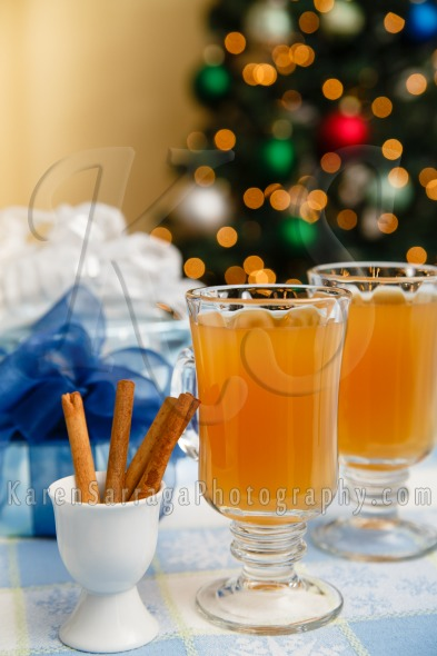 Stock Image: Hot Mulled Cider