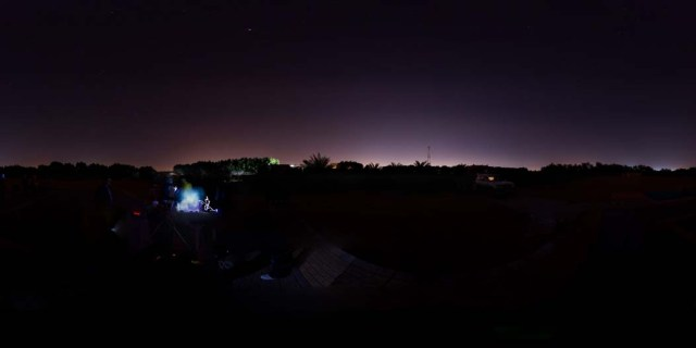 Geminids Meteor Shower GigaPan