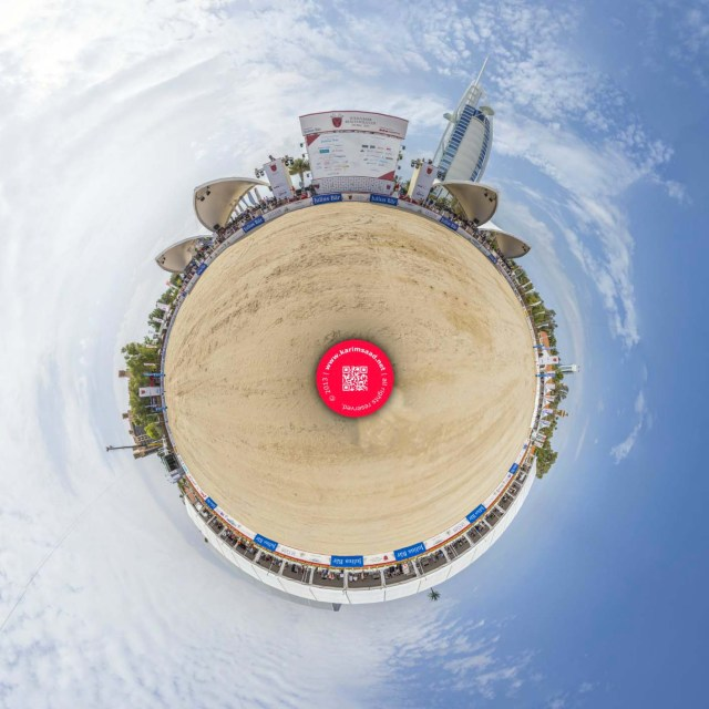 Julius Baer Beach Polo Cup Dubai 2013 GigaPan | 3 Gigapixels image