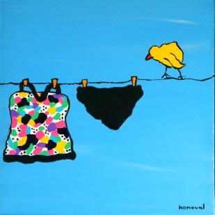 My Friend Sally Has 56 Swim Suits #2, Karin Konoval