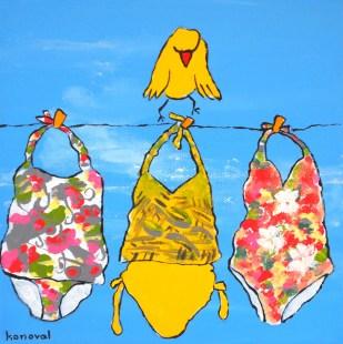 My Friend Sally Has 56 Swim Suits #3, Karin Konoval